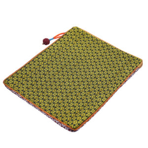 handwoven fabric case sold by Ethiqana a shop specialising in eco friendly products, earth friendly products and sustainable products.