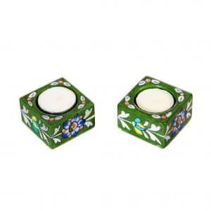 handmade tealight holder sold by Ethiqana a shop specialising in eco friendly products, earth friendly products and sustainable products.